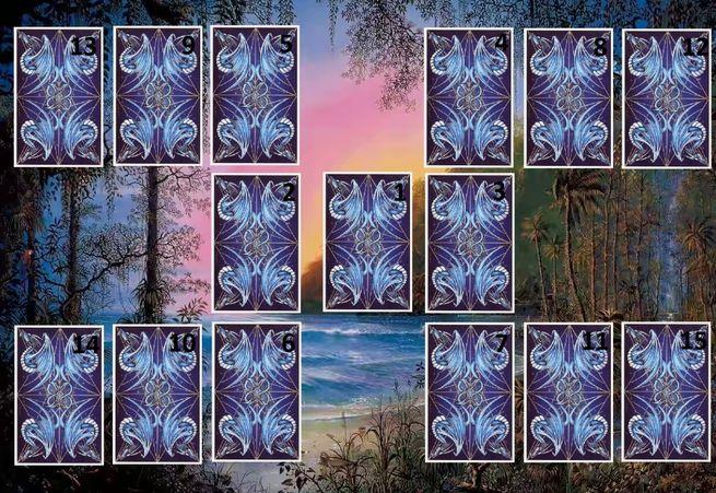 Пятнадцать карт предскажут будущее