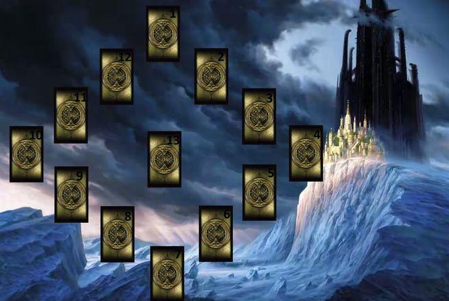 """Расклад на картах Таро - """"Двенадцать домов"""""""