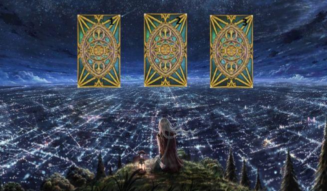 """Расклад на будущее """"Три карты"""""""