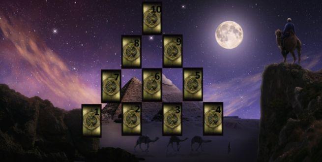"""Расклад Таро - """"Любовная пирамида"""""""