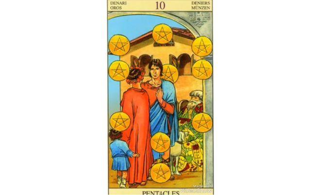 10 Пентаклей (Десятка Монет)
