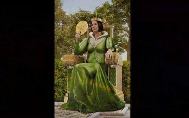 Смысл Аркана Королева Монет Таро