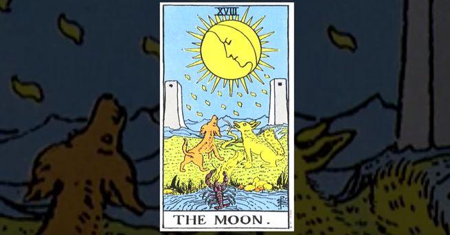 это 18 Аркан Таро Луна