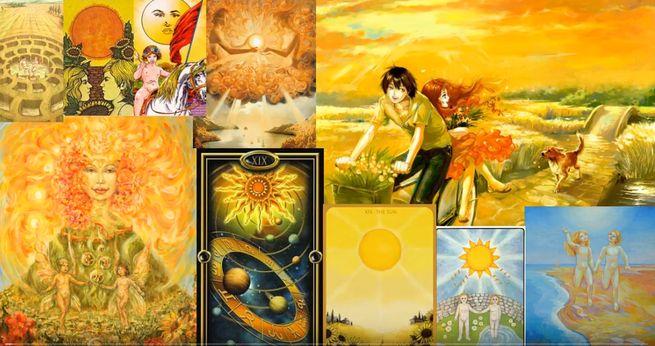 Таро Солнце - значение которой меняется