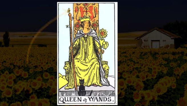 Королева Жезлов таро (Дама Посохов) - значение и толкование