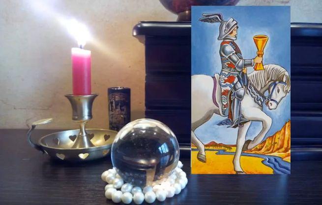 роль аркана рыцарь кубков таро