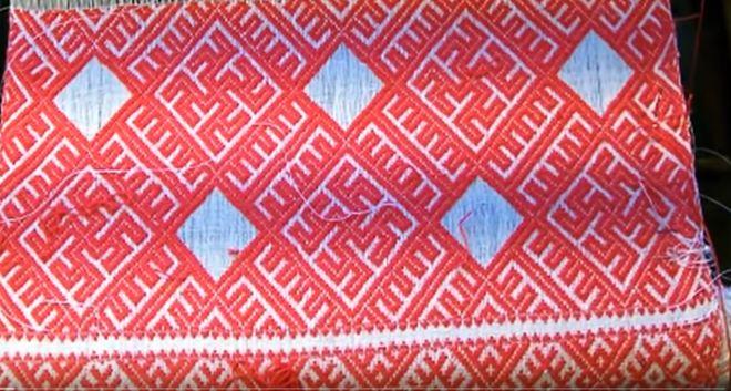 узор для обережной вышивки