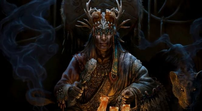 Костюмы шаманов